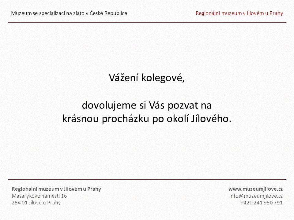 Muzeum se specializací na zlato v České Republice