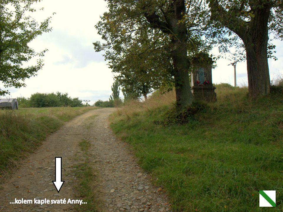 ...kolem kaple svaté Anny...