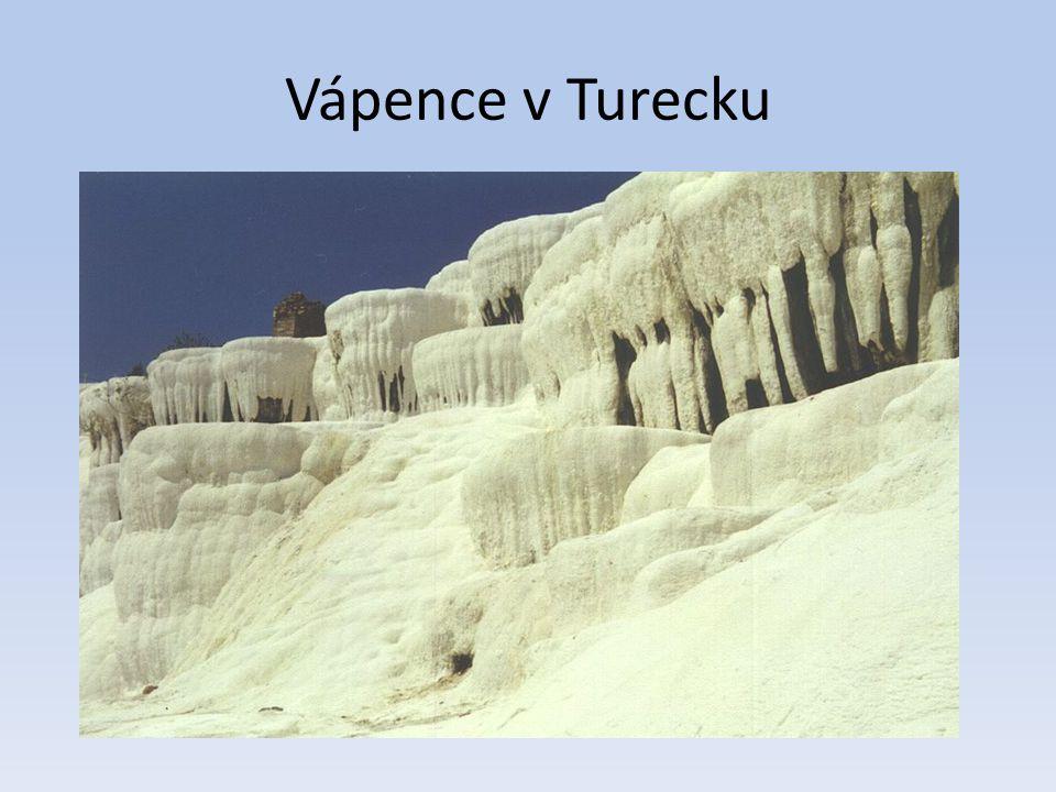 Vápence v Turecku