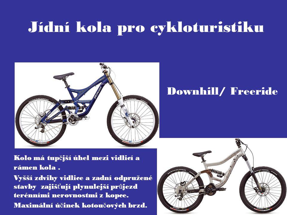 Jídní kola pro cykloturistiku