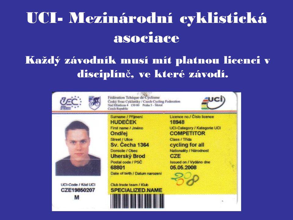 UCI- Mezinárodní cyklistická asociace