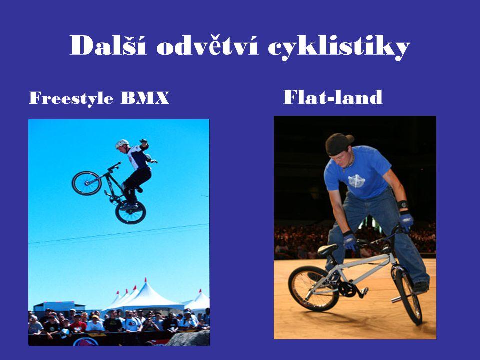 Další odvětví cyklistiky