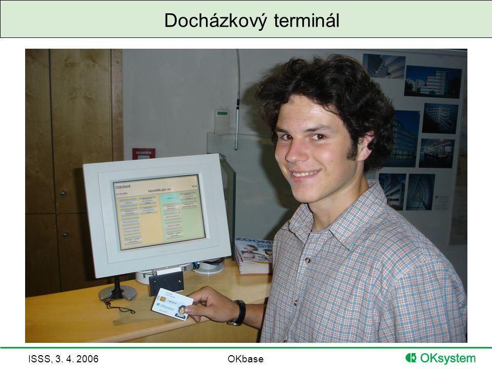 Docházkový terminál
