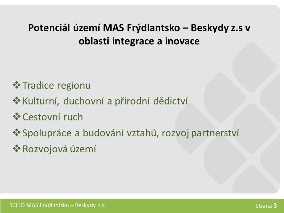 Potenciál území MAS Frýdlantsko – Beskydy z