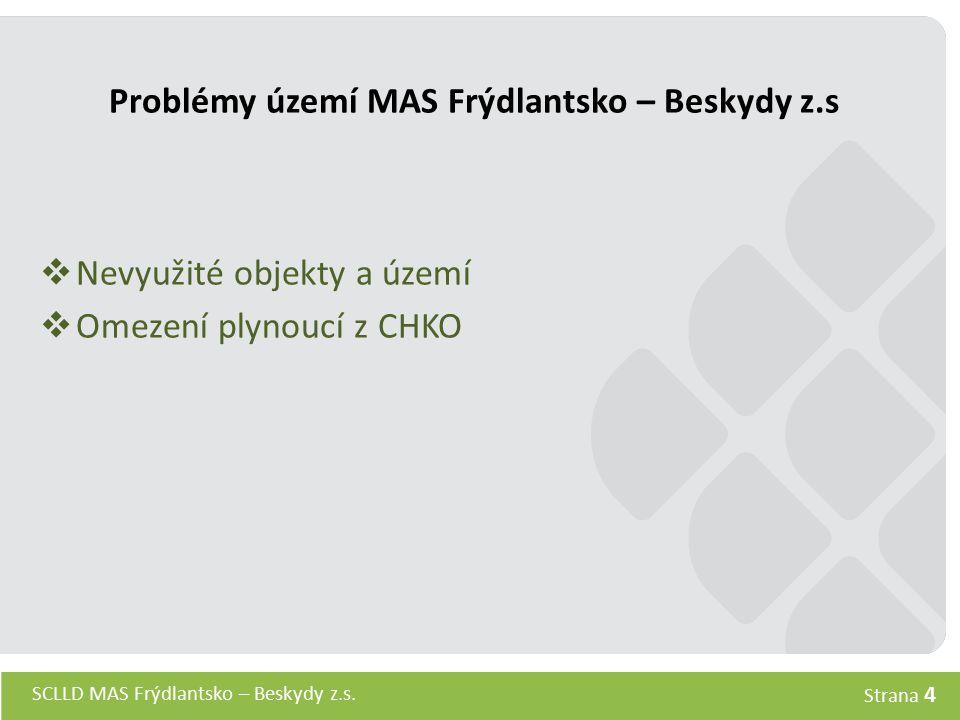 Problémy území MAS Frýdlantsko – Beskydy z.s