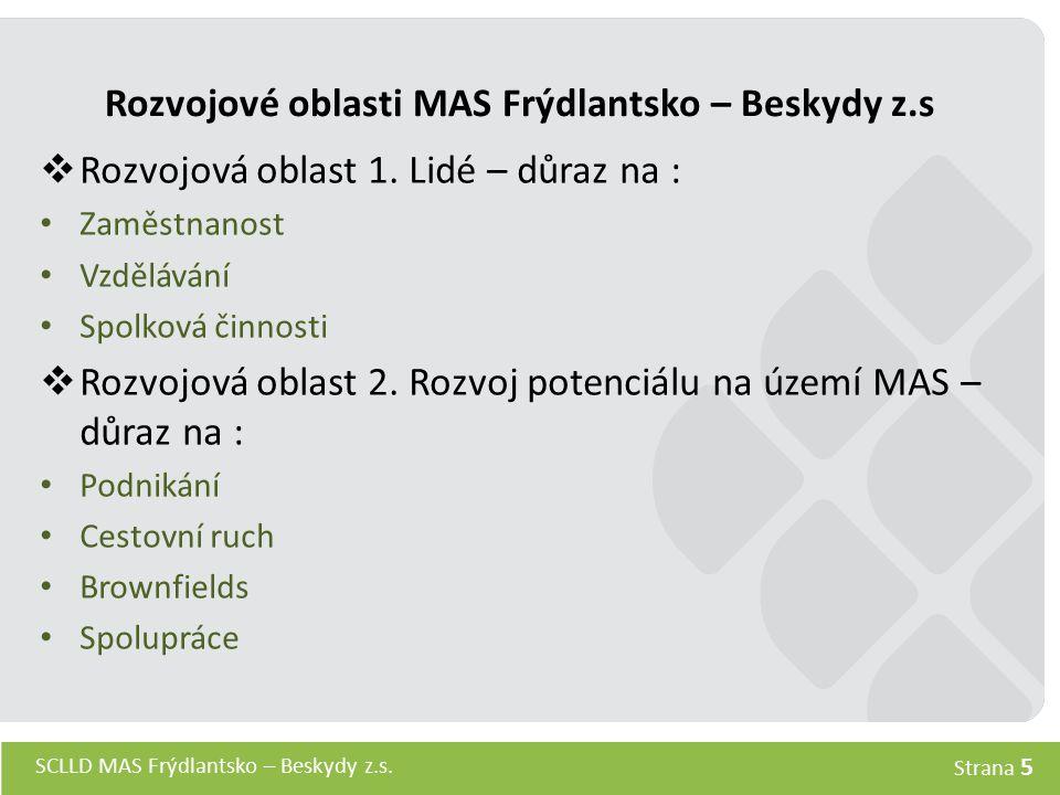 Rozvojové oblasti MAS Frýdlantsko – Beskydy z.s