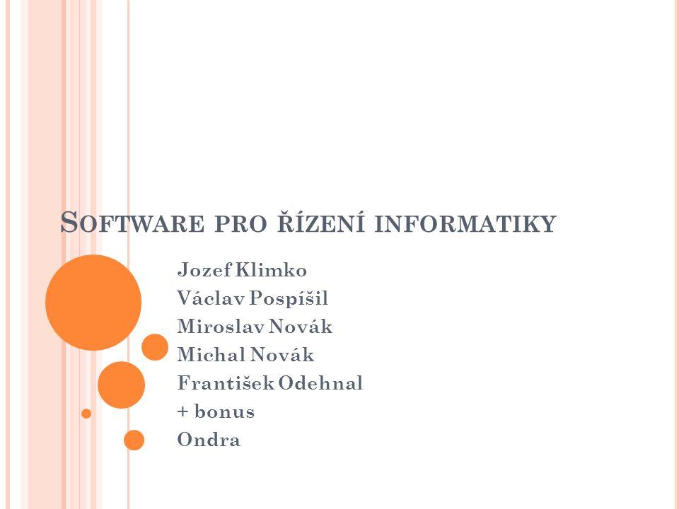 Software pro řízení informatiky