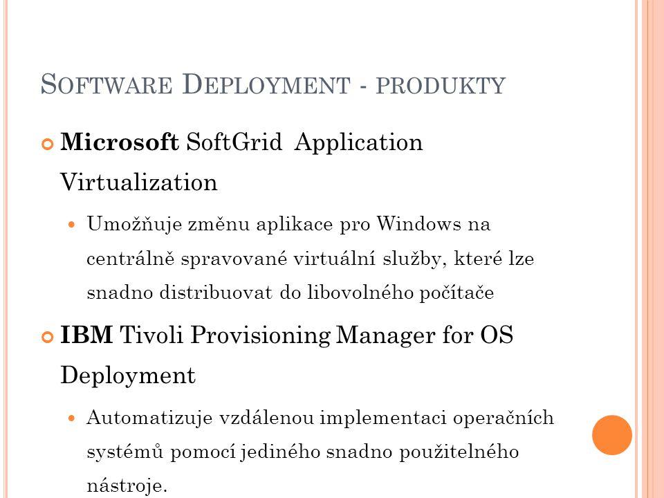 Software Deployment - produkty