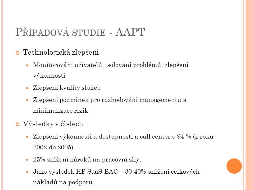 Případová studie - AAPT