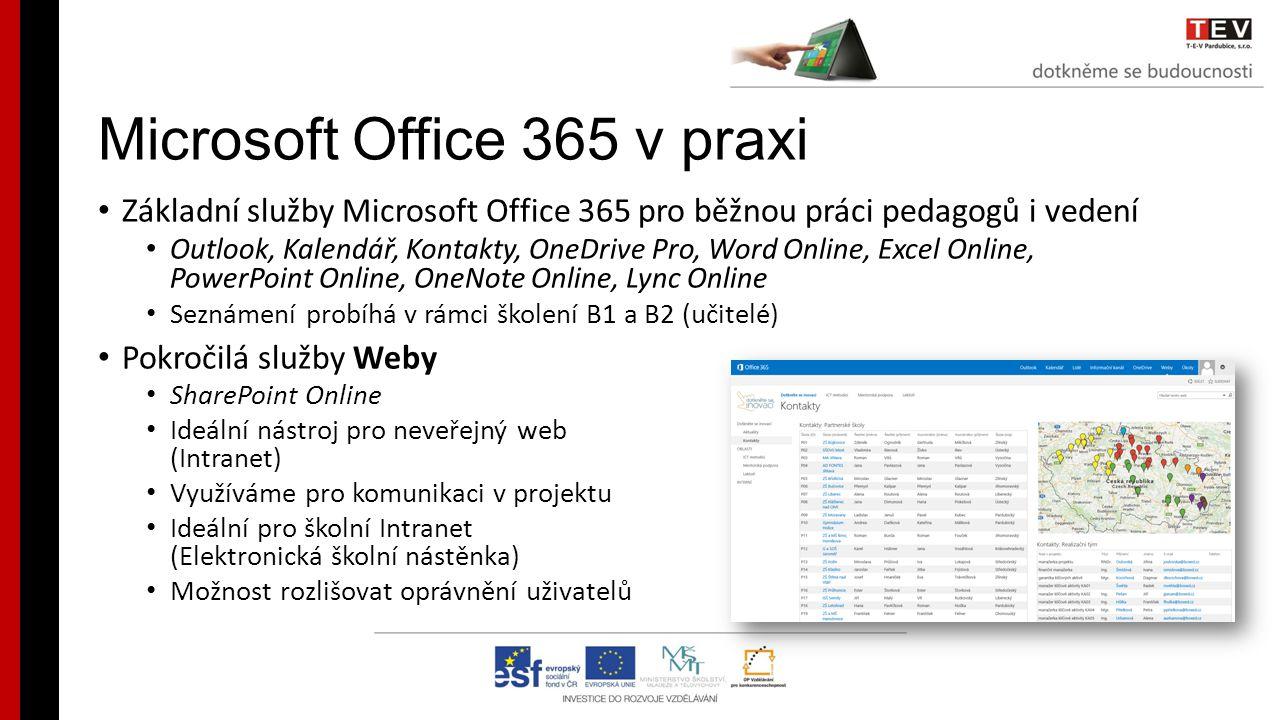 Microsoft Office 365 v praxi