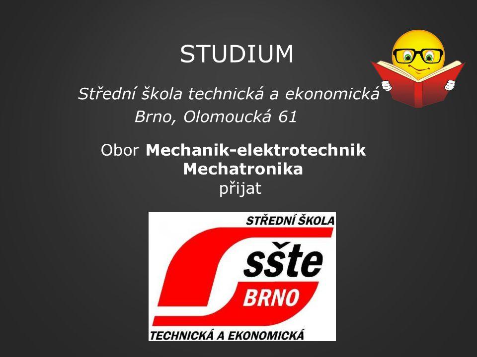 Studium Střední škola technická a ekonomická Brno, Olomoucká 61