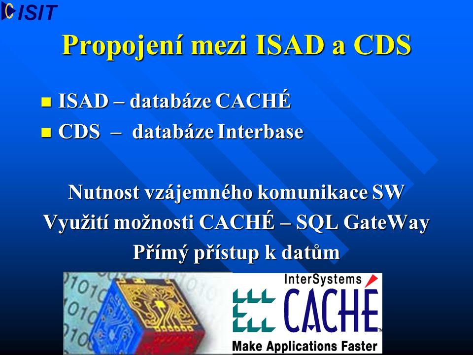 Propojení mezi ISAD a CDS