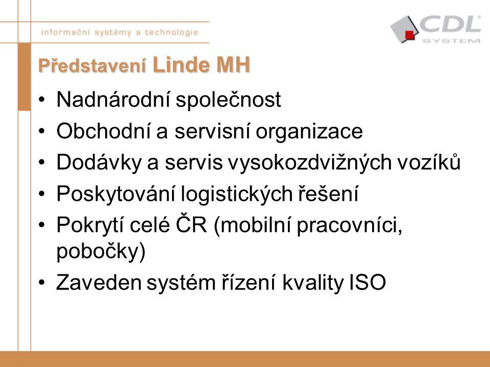 Nadnárodní společnost Obchodní a servisní organizace