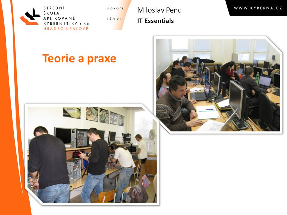Miloslav Penc IT Essentials Teorie a praxe