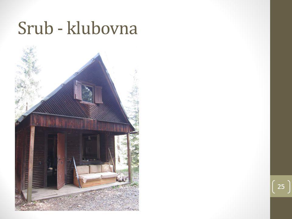 Srub - klubovna