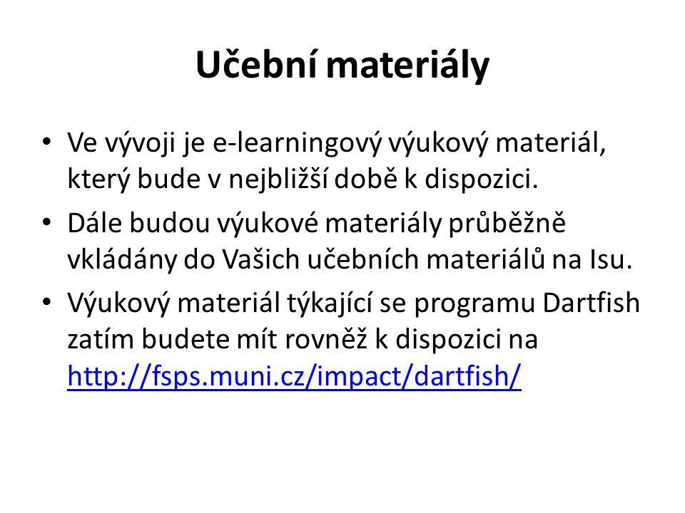 Učební materiály Ve vývoji je e-learningový výukový materiál, který bude v nejbližší době k dispozici.