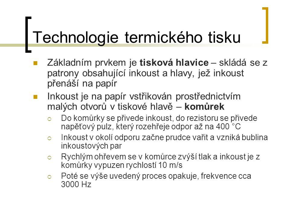 Technologie termického tisku