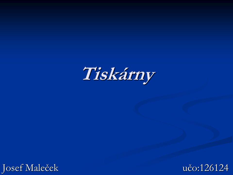 Tiskárny Josef Maleček učo:126124