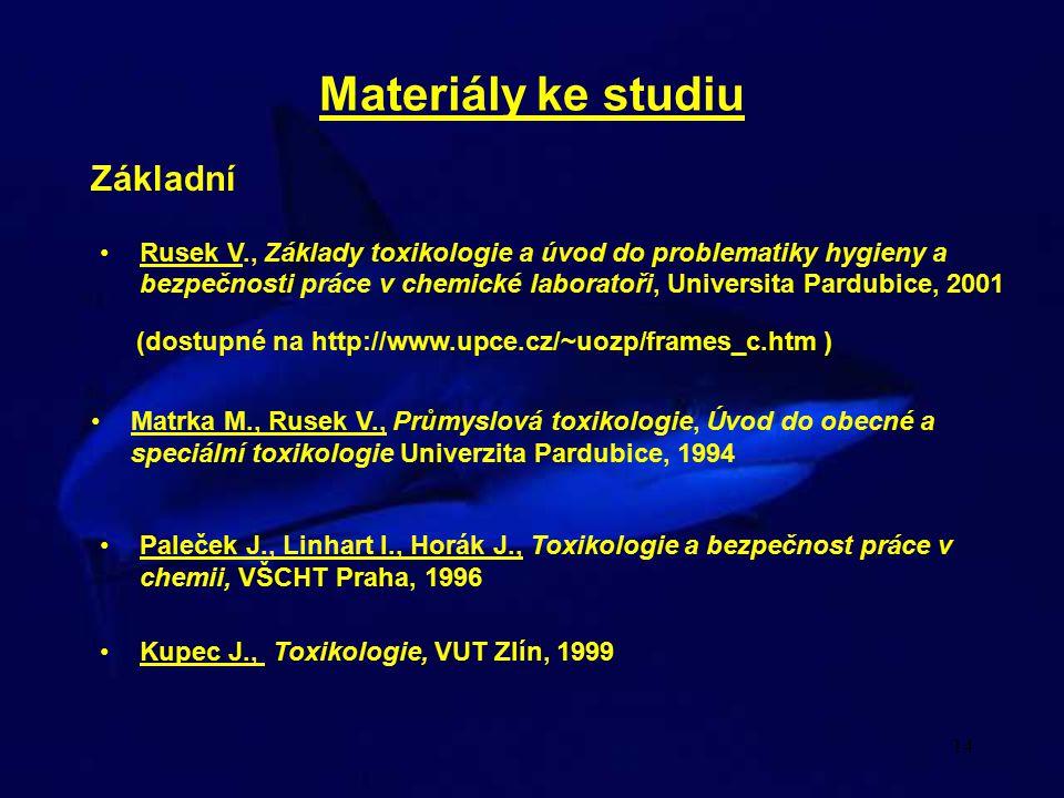 Materiály ke studiu Základní