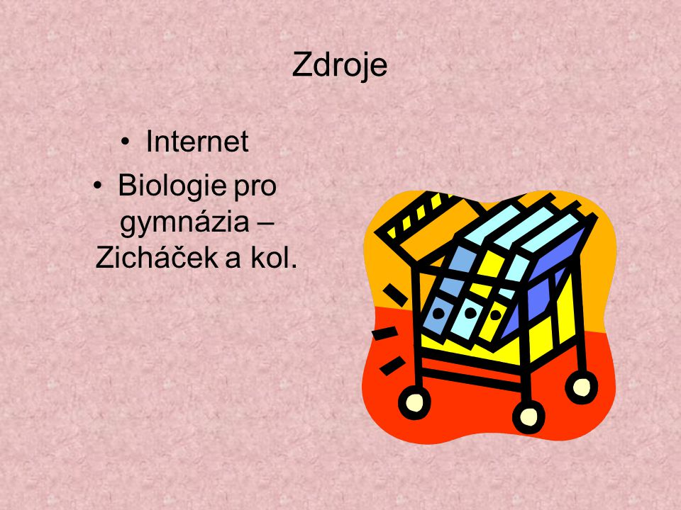 Biologie pro gymnázia – Zicháček a kol.