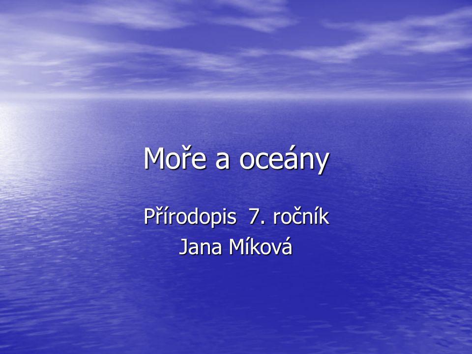 Přírodopis 7. ročník Jana Míková