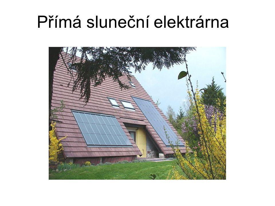 Přímá sluneční elektrárna