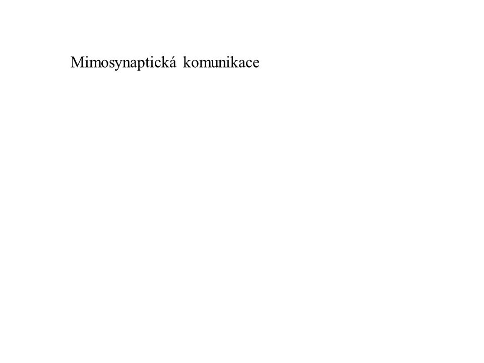 Mimosynaptická komunikace