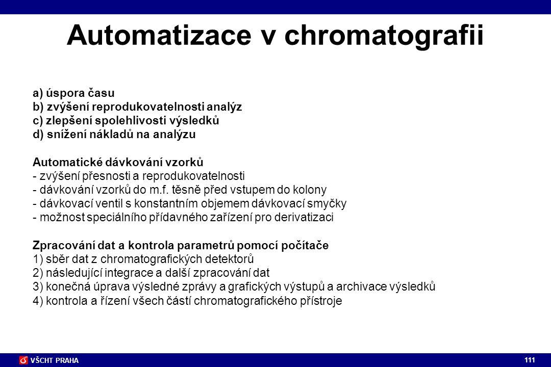 Automatizace v chromatografii