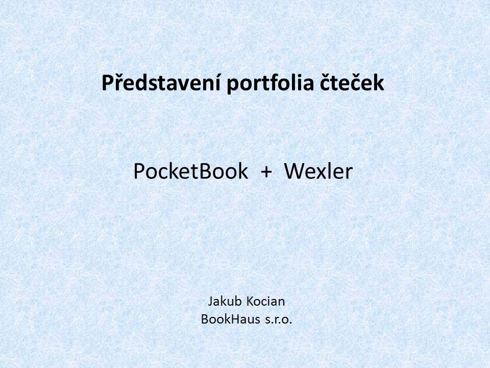Představení portfolia čteček PocketBook + Wexler