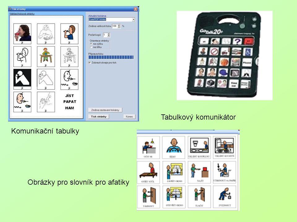 Tabulkový komunikátor