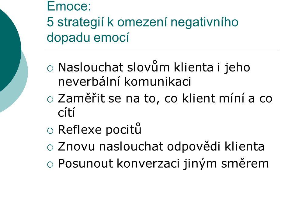 Emoce: 5 strategií k omezení negativního dopadu emocí