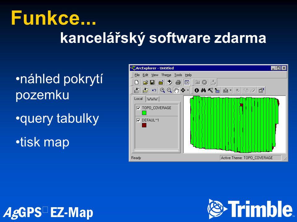 Funkce... kancelářský software zdarma náhled pokrytí pozemku
