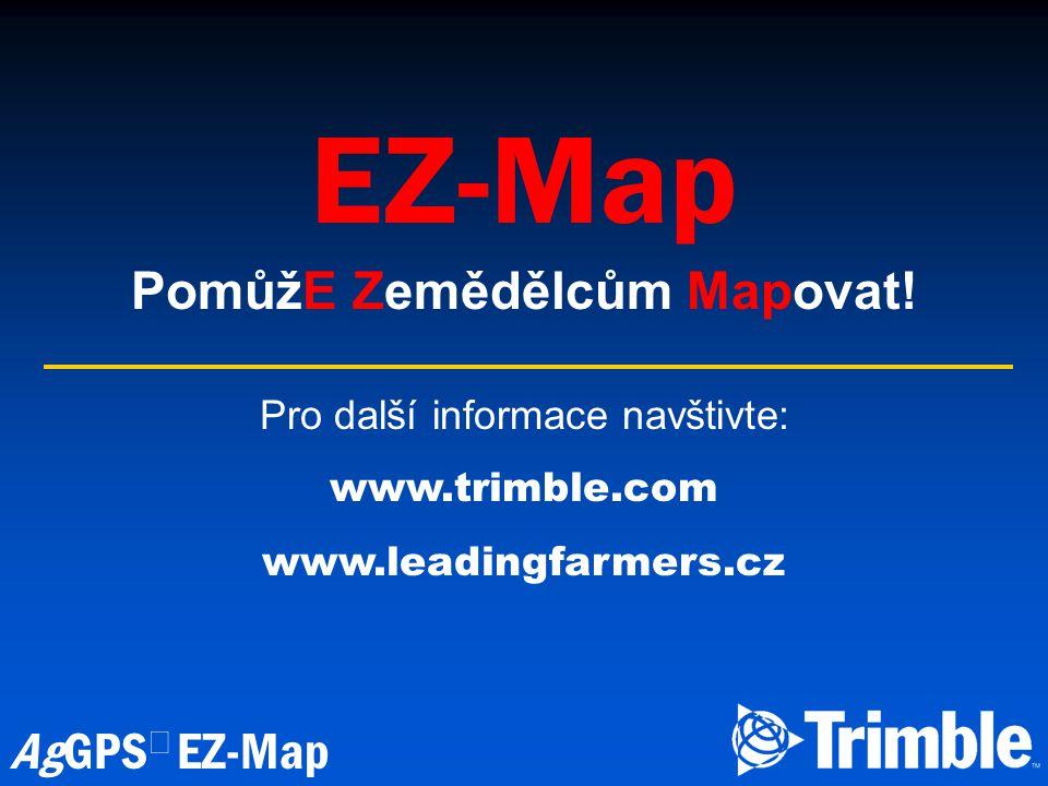 PomůžE Zemědělcům Mapovat!