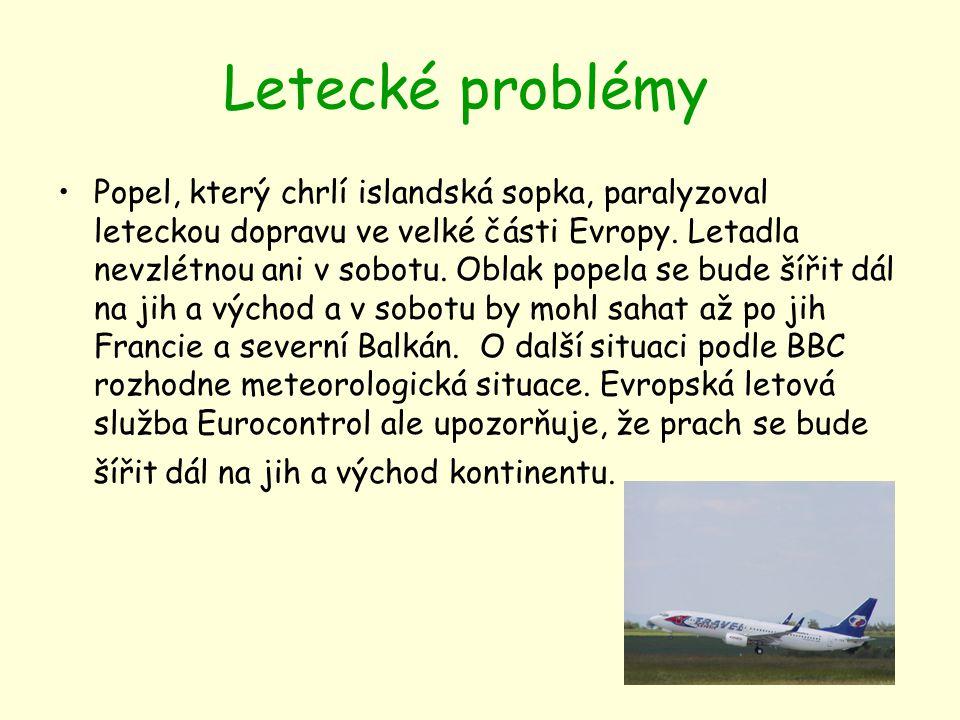 Letecké problémy