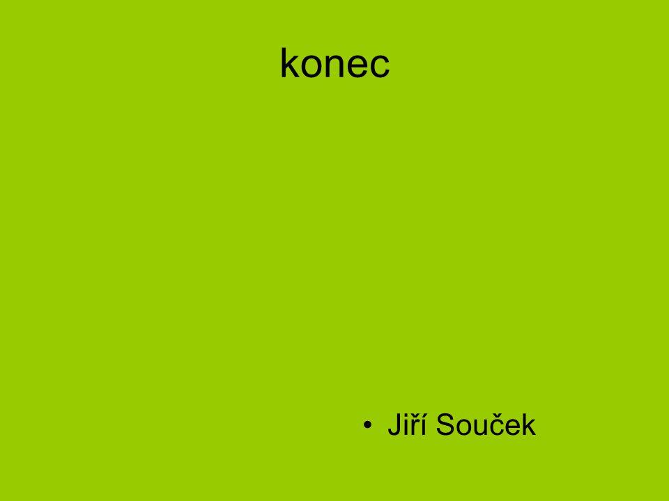 konec Jiří Souček