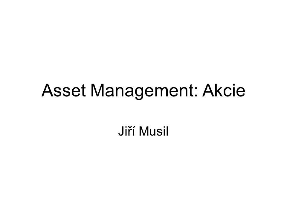Asset Management: Akcie