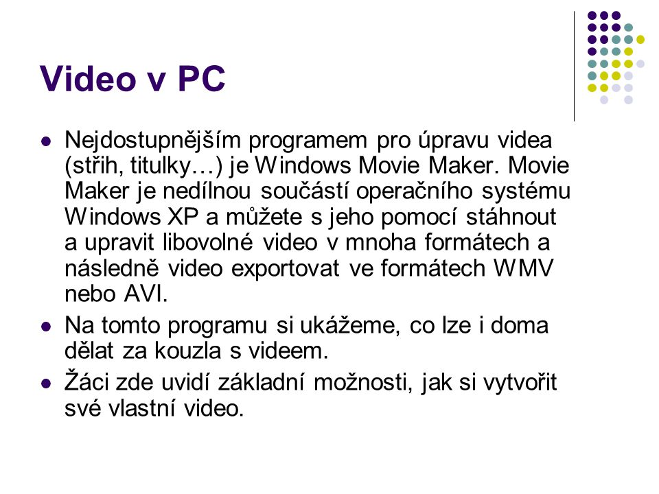 Video v PC