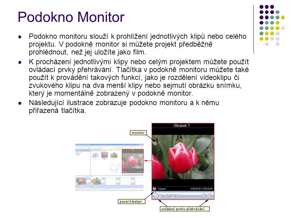 Podokno Monitor