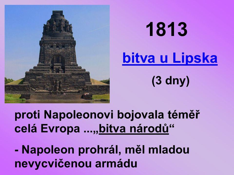 1813 bitva u Lipska.