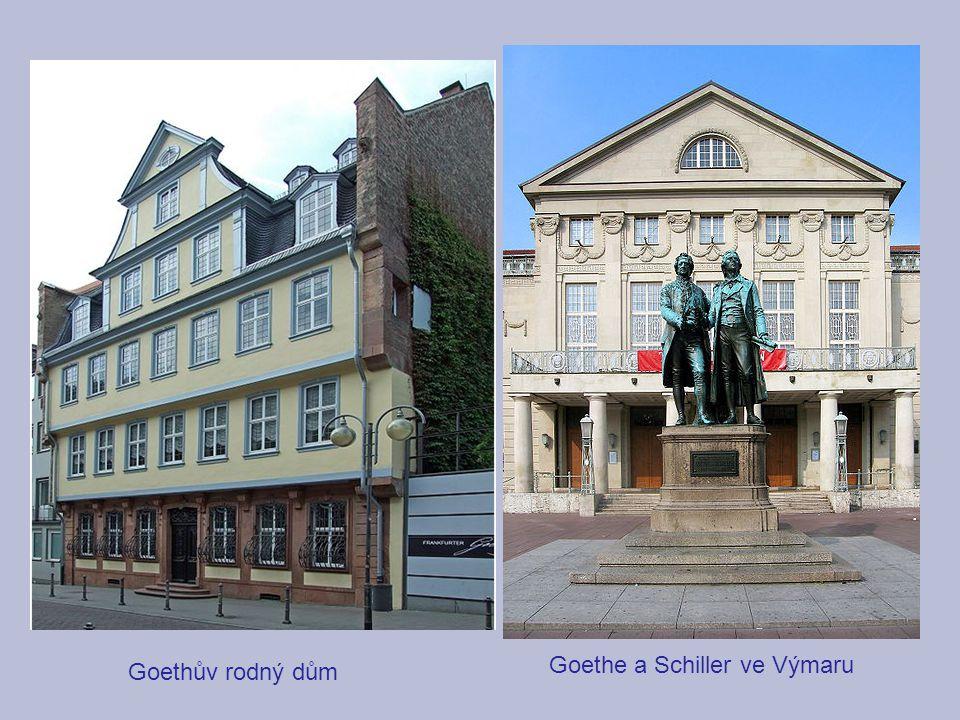 Goethe a Schiller ve Výmaru