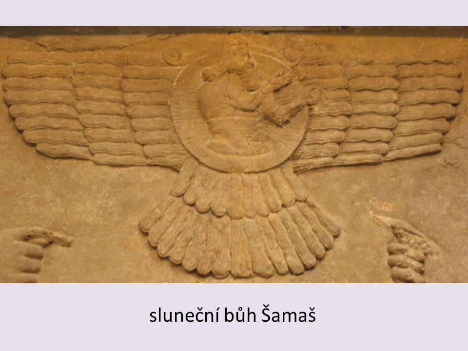 sluneční bůh Šamaš