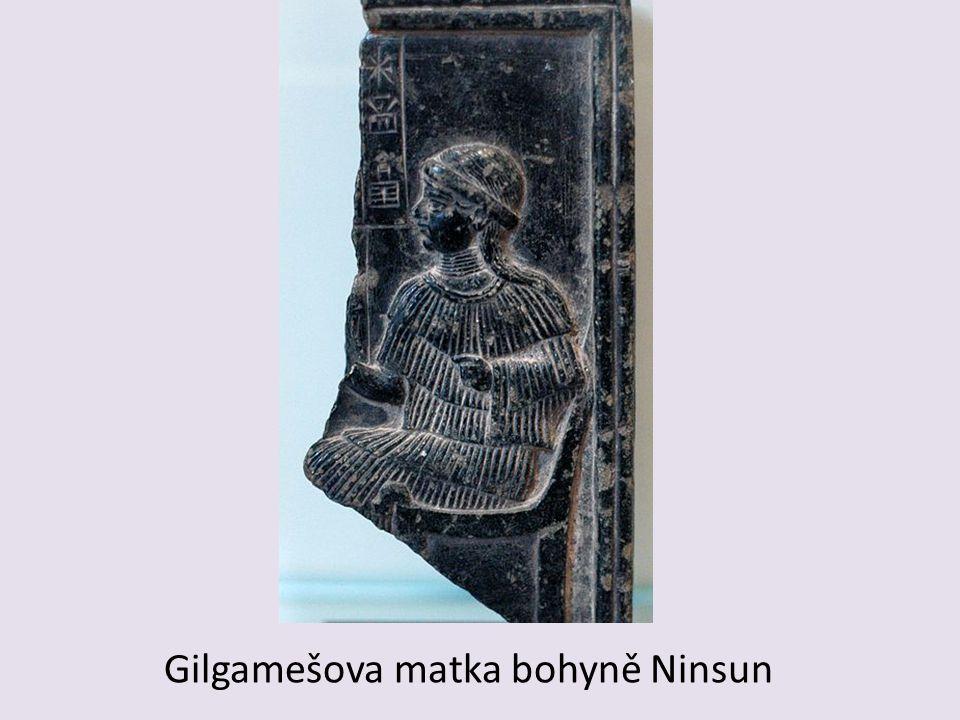 Gilgamešova matka bohyně Ninsun