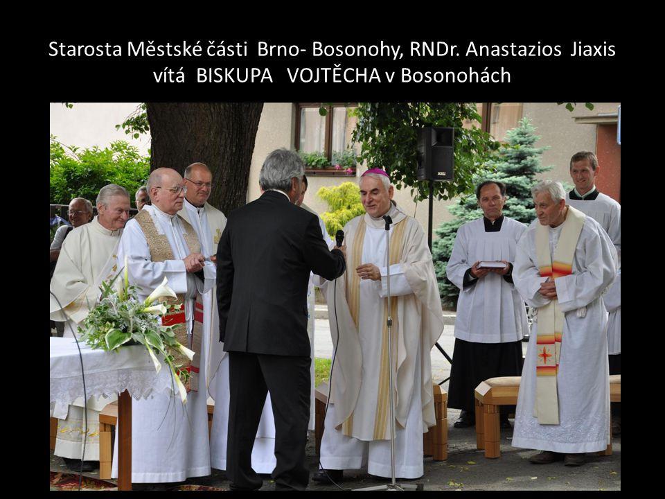 Starosta Městské části Brno- Bosonohy, RNDr