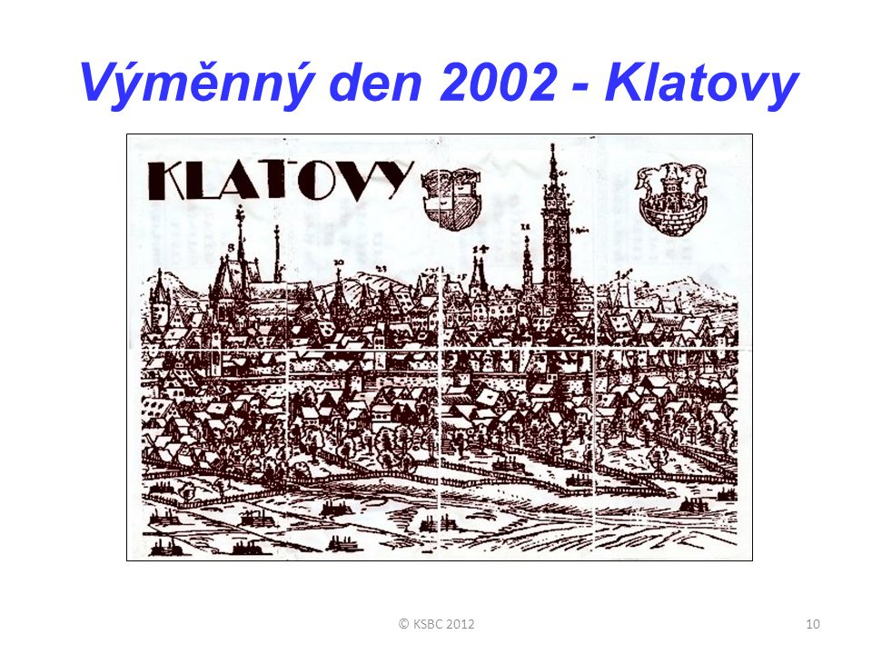 Výměnný den 2002 - Klatovy © KSBC 2012
