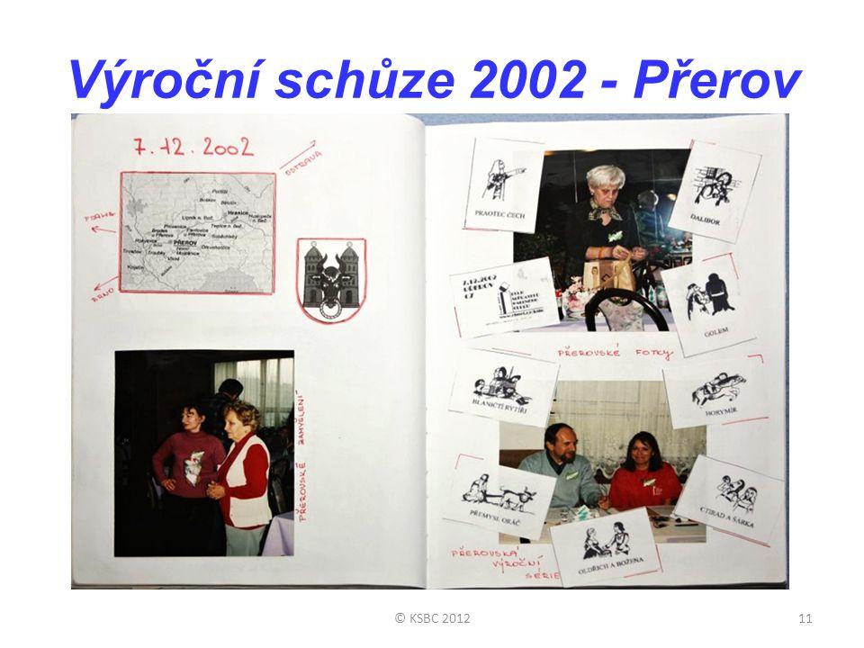 Výroční schůze 2002 - Přerov