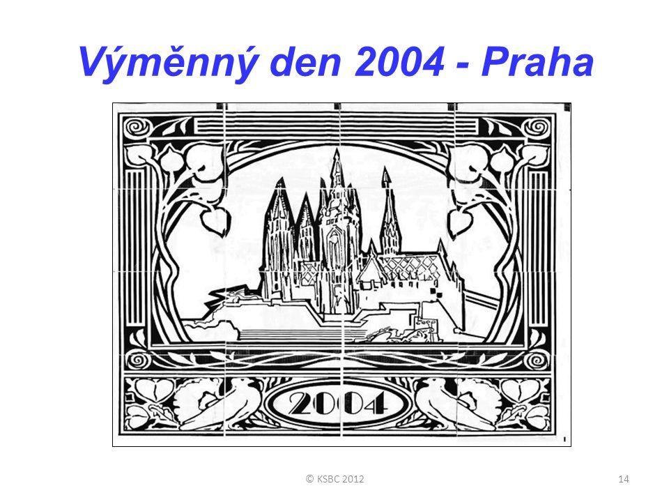 Výměnný den 2004 - Praha © KSBC 2012