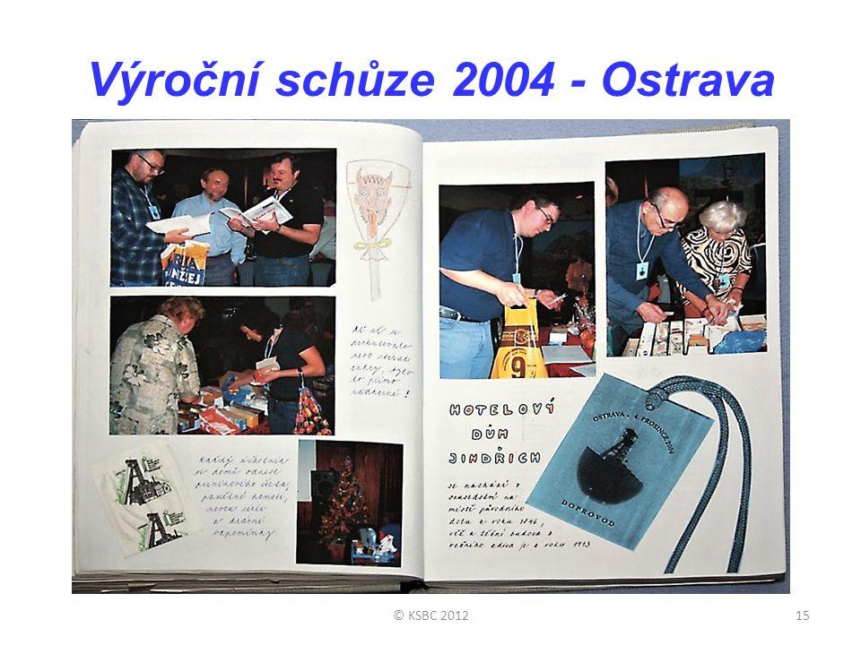 Výroční schůze 2004 - Ostrava
