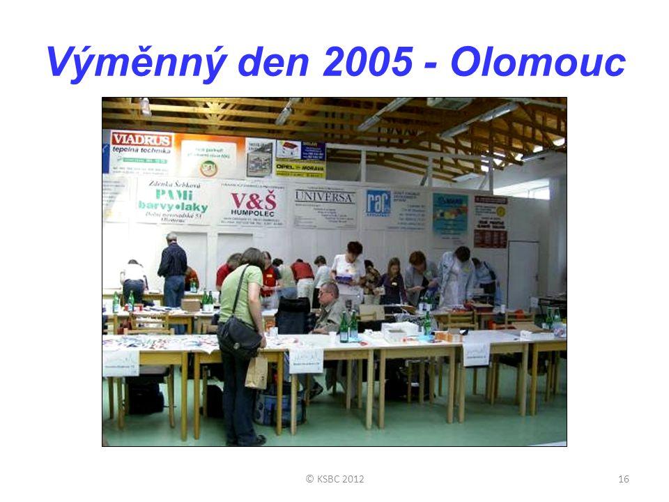 Výměnný den 2005 - Olomouc © KSBC 2012