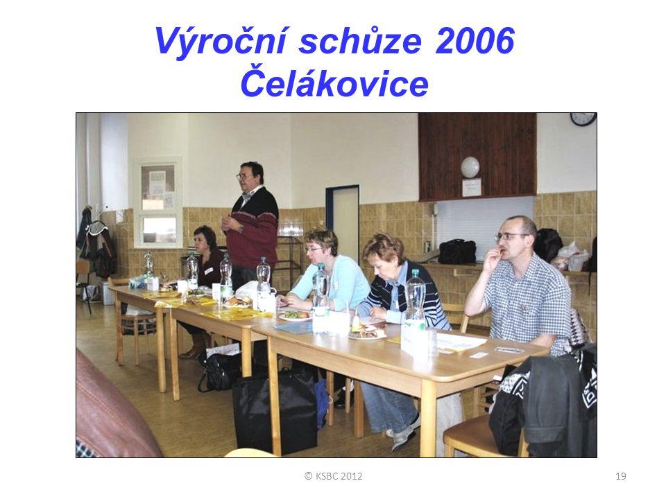 Výroční schůze 2006 Čelákovice