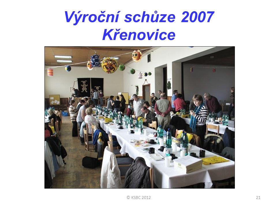 Výroční schůze 2007 Křenovice